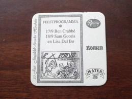 20 Jaar JEUGDCLUB ARCADIA HOREBEKE ( Brouwerij ROMAN - Sous Bock / Coaster / Onderlegger ) Zie Foto´s Voor Detail ! - Beer Mats