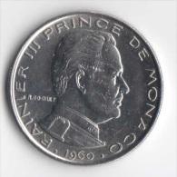 ** 1 FRANC MONACO 1960 SUP- ** - 1960-2001 Nouveaux Francs