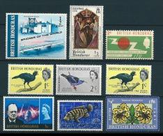 Brit. Honduras 1962-71  Diverse Marken  Postfrisch / **/ MNH - Britisch-Honduras (...-1970)