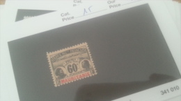 LOT 226480 TIMBRE DE COLONIE MAURITANIE NEUF* N�15 VALEUR 16 EUROS