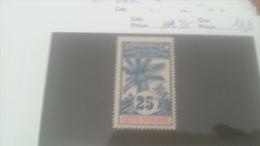 LOT 226515 TIMBRE DE COLONIE COTE IVOIRE NEUF* N�27 VALEUR 11,6 EUROS