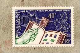 """Nelle CALEDONIE  : """"PHILATEC 1964"""" à Paris - Exposition Philatélique Internationale - Grand Palais, Cheval De Marly  - - New Caledonia"""