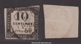 Le 10c Litho à -35€ ! (Y&T N° 1, Cote: 350€) - Postage Due