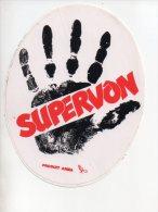 REF 7  : Sticker Autocollant Publicitaire Automobile SUPERVON Produit Arma - Autocollants