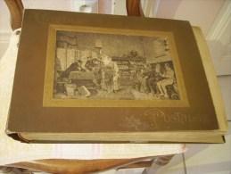 lot de 310    CPA   Cartes  anciennes  Oc�an Atlantique ,petis villages ,fantaisie en relief ou non,It,  dans leur Album