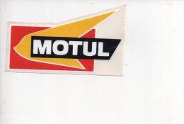 REF 7  : Sticker Autocollant Publicitaire Automobile MOTUL Huille - Autocollants