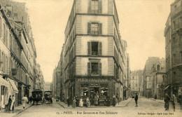 75  PARIS 17e AR   RUE SAUSSURE ET RUE SALNEUVE - Arrondissement: 17