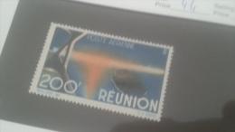 LOT 226546 TIMBRE DE COLONIE REUNION NEUF** N�44 VALEUR 18 EUROS