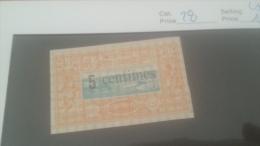 LOT 226548 TIMBRE DE COLONIE COTE DE SOMALIS NEUF(*) N�28 VALEUR 11 EUROS