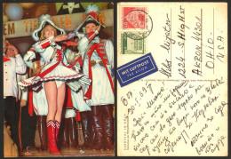 Germany KOLN Karneval  Girl  Stamp   #16092 - Koeln