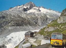 CPM SUISSE  GLACIER DU RHONE GALASTOCK - Switzerland