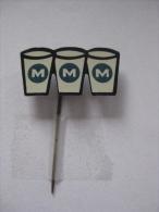 Pin M M M (GA00373) - Boissons