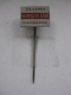 Pin Zilveren Weesper Kluit Margarine (GA00444) - Pins