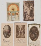Oloron Sainte Marie. 5 Images Pieuses Eglise Notre-Dame. Annees 30 Et 40. - Images Religieuses
