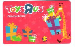 Germany - Allemagne - Toys R Us - Carte Cadeau - Carta Regalo - Gift Card - Geschenkkarte - Frankreich