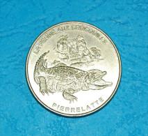 La Ferme Aux Crocodiles - Pierrelatte - 1999 - Monnaie De Paris