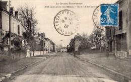 LAVAVEIX-LES-MINES ROUTE D'AUBUSSON ANIMEE - France