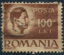 Pays : 409,24 (Roumanie : Royaume (Michel Ier (1940-1947))  Yvert Et Tellier N° : 804 (o) - 1918-1948 Ferdinand, Charles II & Michael