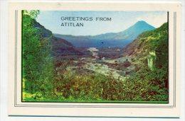 GUATEMALA - AK 207692 Greetings From Atitlan - Guatemala