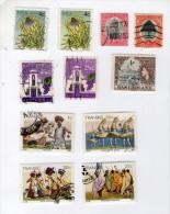 TIMBRES AFRIQUE PAYS DIVERS - LOT + DE 1100 TIMBRES - OBLITERES & NON OBLITERES - VOIR SCANS ET DESCRIPTION - Stamps