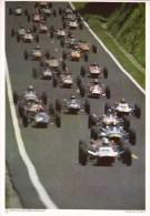 Collection Elf-Competition No 14  -  Formula France  -  Circuit De Rouen Les Essarts   -  A4  -  2 Scans - Car Racing - F1