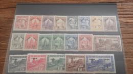 LOT 226558 TIMBRE DE COLONIE TUNISIE NEUF* N�185 A 204 VALEUR 200 EUROS