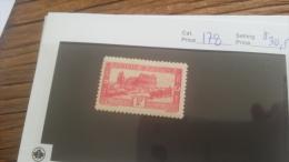LOT 226601 TIMBRE DE COLONIE TUNISIE NEUF* N�178 VALEUR 30,5 EUROS