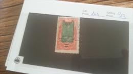 LOT 226621 TIMBRE DE COLONIE AEF OBLITERE N�104 VALEUR 13 EUROS
