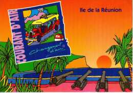 974 - ILE DE LA REUNION -   Ile Bourbon - LE BARACHOIS De SAINT DENIS   - Car Courant D Air - Saint Denis
