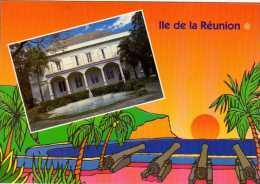 974 - ILE DE LA REUNION -   Ile Bourbon - LE BARACHOIS De SAINT DENIS   -case Créole - Saint Denis
