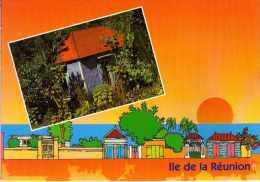 974 - ILE DE LA REUNION -   Ile Bourbon -  SAINT DENIS   - Case Créole - Saint Denis