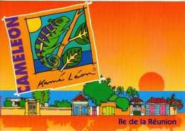 974 - ILE DE LA REUNION -   Ile Bourbon -  SAINT DENIS   - Caméleon Ou L'endormi - Saint Denis