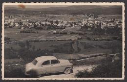 SLOVENIA - Kočevje, Gottschee, Old Postcard, Old Car, Folded - Slovenia