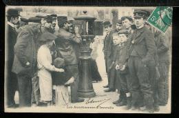 PARIS  POMPIERS - Les Avertisseurs D'incendie - éditeur GONDRY - Sapeurs-Pompiers
