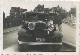 Duinbergen1934 , .  . Oude Foto  9 X 6    Old Car - Foto's