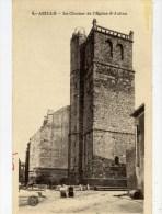 11 AZILLE  Le Clocher De L´Eglise Saint-Julien  Animée - Frankreich