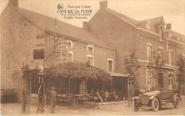 Han Sur Lesse  Café De La Poste Pirotte Leger Ancienne Automobile Pompe A Essence - Rochefort