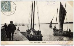 56  BILLIERS Près MUZILLAC- Penlan Animée,Chaloupes De Pêche- Précurseur Avant 1904 - France