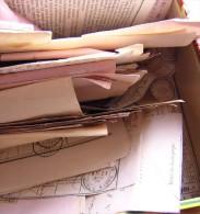 BRAY SUR SEINE 77 Lot Environ 550 Bulletins Dépôt De Chargement, Récépissé Envoi Déclaré, Déclaration De Versement - Postmark Collection (Covers)