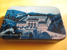 Boite   Métallique/Pastilles Digestives/ Chatel-Guyon/Gubler /Sté Des Eaux Minérales/Puy De Dôme/ Vers 1940   BFPP7 - Boxes