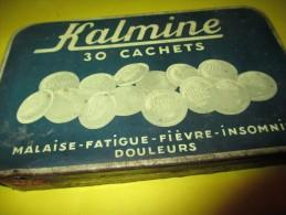 Boite   Métallique/Kalmine/30 Cachets /Métadier / TOURS/ France / Vers 1950 BFPP18 - Boxes