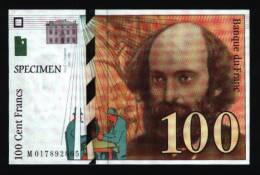 CP 100 Francs Cézanne - Monnaies (représentations)
