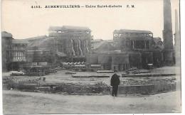 AUBERVILLIERS - Usine Saint Gobain - Aubervilliers