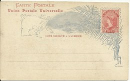 BRAZIL  Bilhete Postal 80 Reis  U.P.U.  131x80mm - Enteros Postales