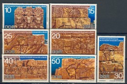 BL1-360 DDR, EAST GERMANY 1970 MI 1584-1590 ARCHEOLOGICAL FINDS IN EGYPT. MNH, POSTFRIS, NEUF**. - Archeologie