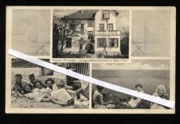 GERMANIA - 1937 - WYK AUF FOHR - HAUS FRIEDE - JUNGMADCHENHEIM - Föhr