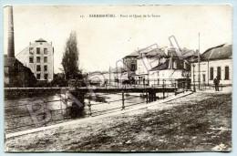 Sarrebourg (57) - Pont Et Quai De La Sarre - Sarrebourg