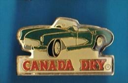PIN´S //   . CHEVROLET CORVETTE CONVERTIBLE CANADA DRY - Corvette
