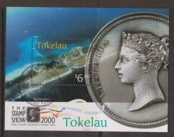 Tokelau 2000 London Stamp Show Miniature Sheet FU