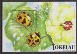 Tokelau 1998 Beetle Miniature Sheet FU